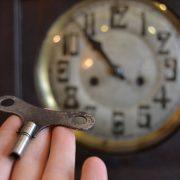 Secesní starožitné hodiny