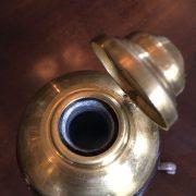Secesní starožitný flakón