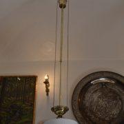 Secesní starožitné stahovací světlo