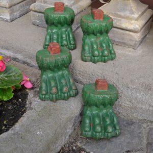 Starožitné nohy z květináče