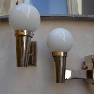 Starožitná designová nástěnná světla