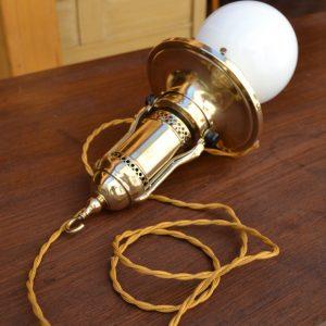 Starožitné technické závěsné světlo