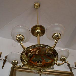 Neoempírový starožitný lustr