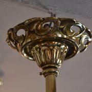 Starožitný secesní lustr