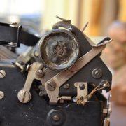 Starožitný psací stroj Stoewer