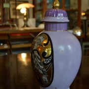 Starožitná váza s dudkem