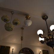 Starožitné závěsné stropní světlo