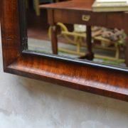 Starožitné biedermeierské zrcadlo