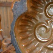 Pečící starožitná forma ve tvaru srdce