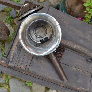 Starožitná kočárová lampa