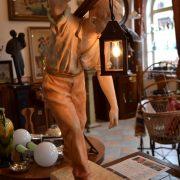 Větší figurální lampička - horník