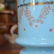 Horácké sklo - obal a miska na květináč