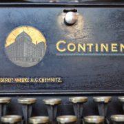 Psací stroj Continental