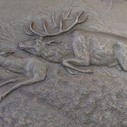 Reliéfní obrázky lovecký námět