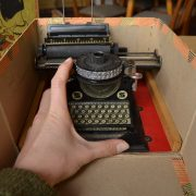 Dětský psací stroj - hračka