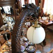 Prvorepubliková lampa s drakem