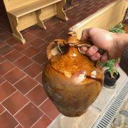 Lidová nádoba na víno zv. čepák