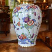 Porcelánová starožitná váza
