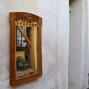 Starožitné secesní zrcadlo