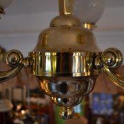 Tří-ramenný historizující lustr