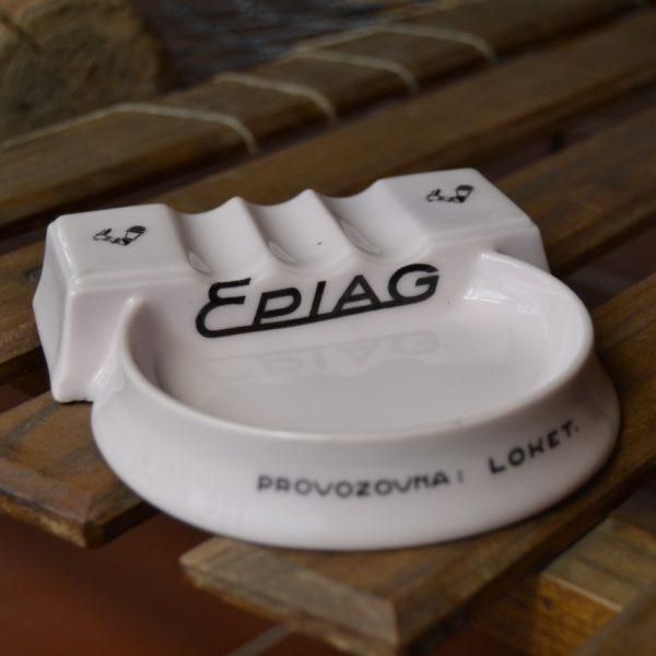 Starožitný popelník Epiag