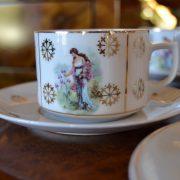 Starožitná souprava na čaj nebo kávu